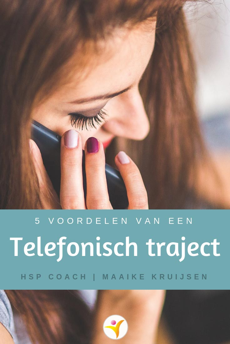 telefonische HSP begeleiding