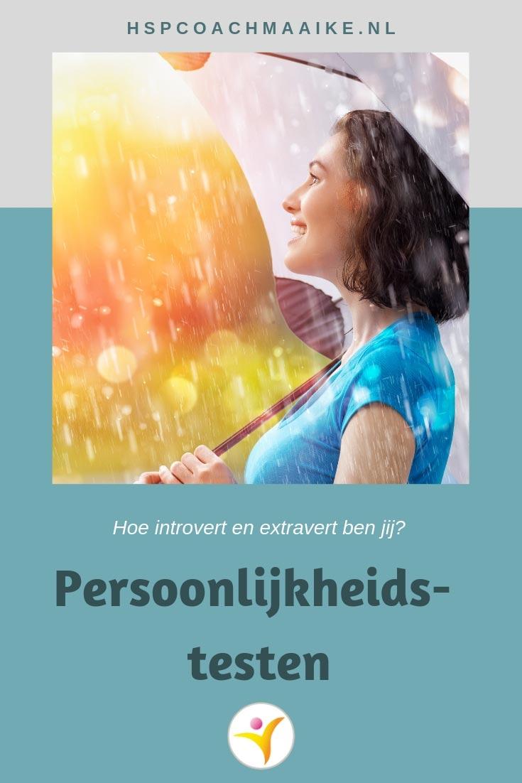 HSP en persoonlijkheidstesten