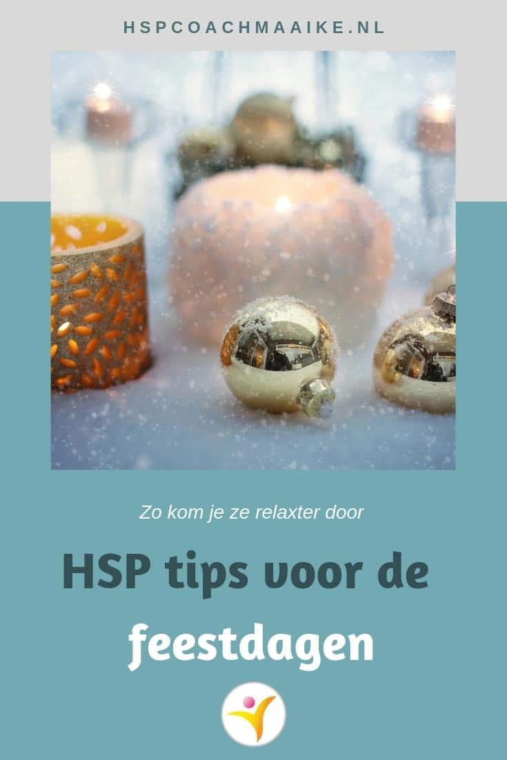 HSP en feestdagen