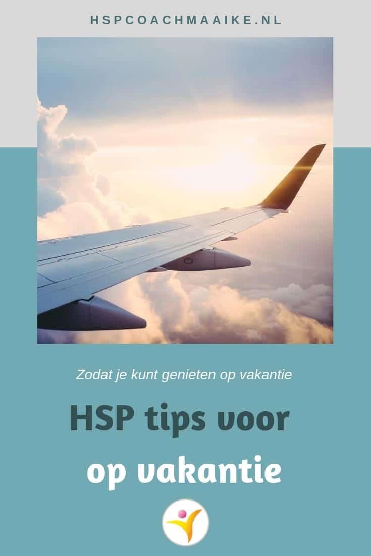 HSP op vakantie