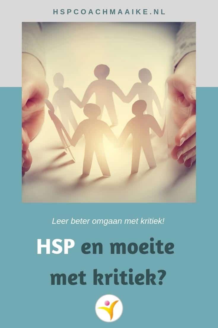 Omgaan met kritiek als HSP
