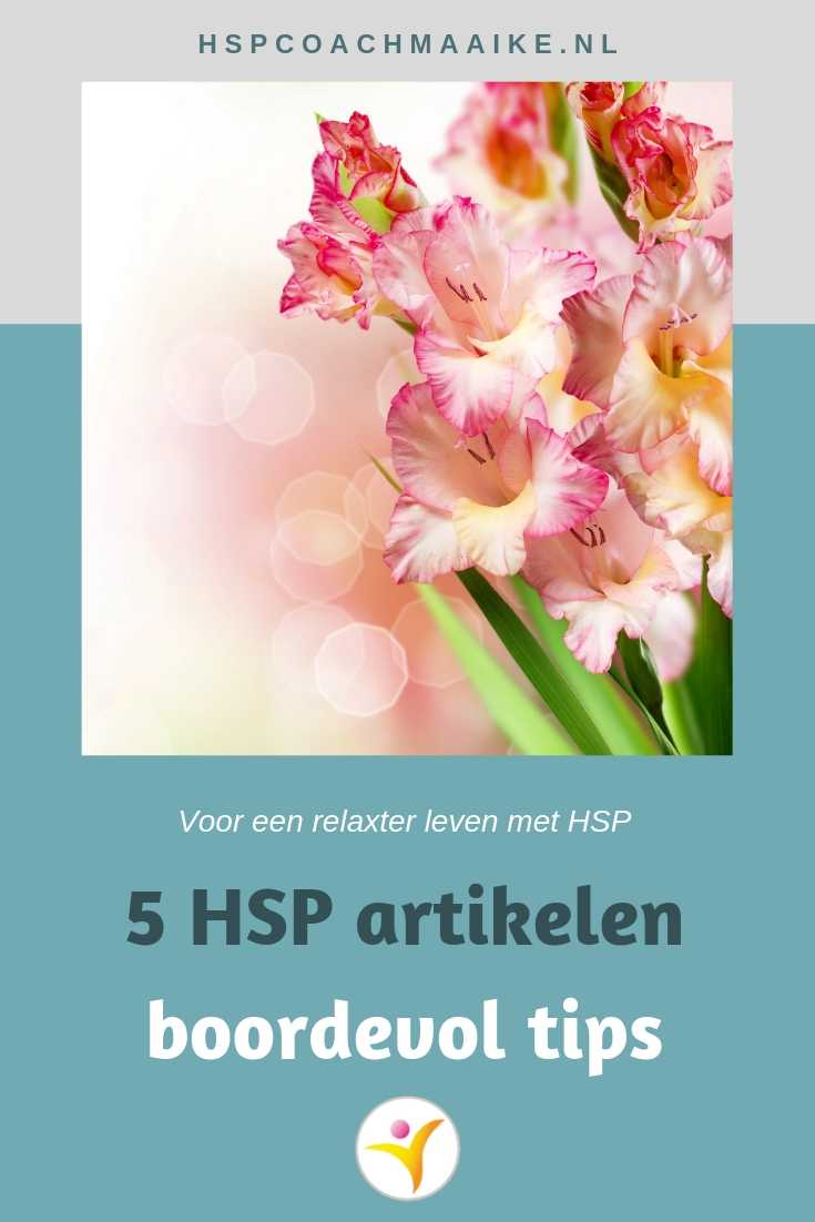 5 HSP artikelen boordevol tips