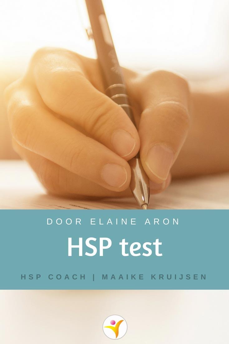 HSP test door Elaine Aron