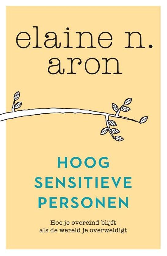 Boek Hoogsensitieve Personen - HSP - Elaine Aron