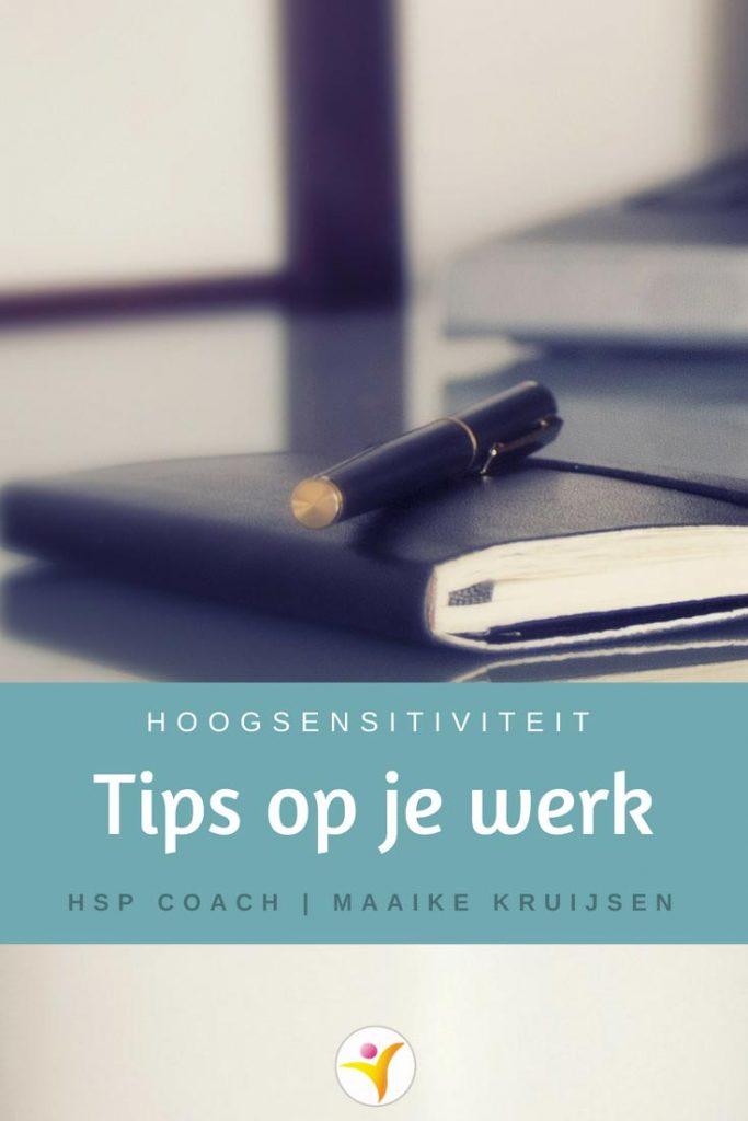 HSP tips op je werk