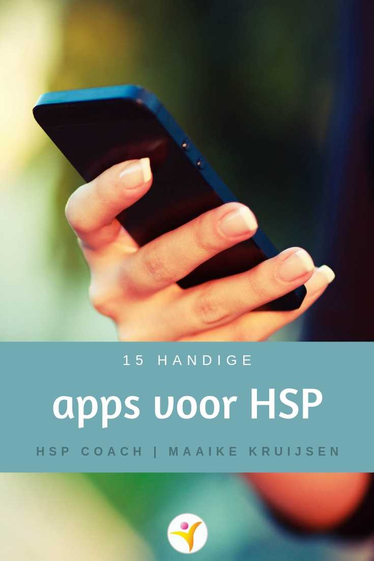 15 handige apps voor HSP