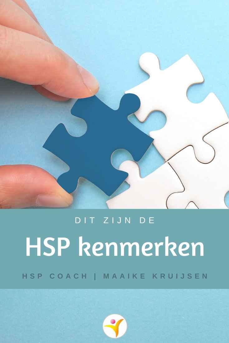Dit zijn de HSP kenmerken