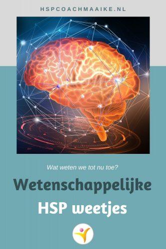 Wetenschappelijke HSP weetjes