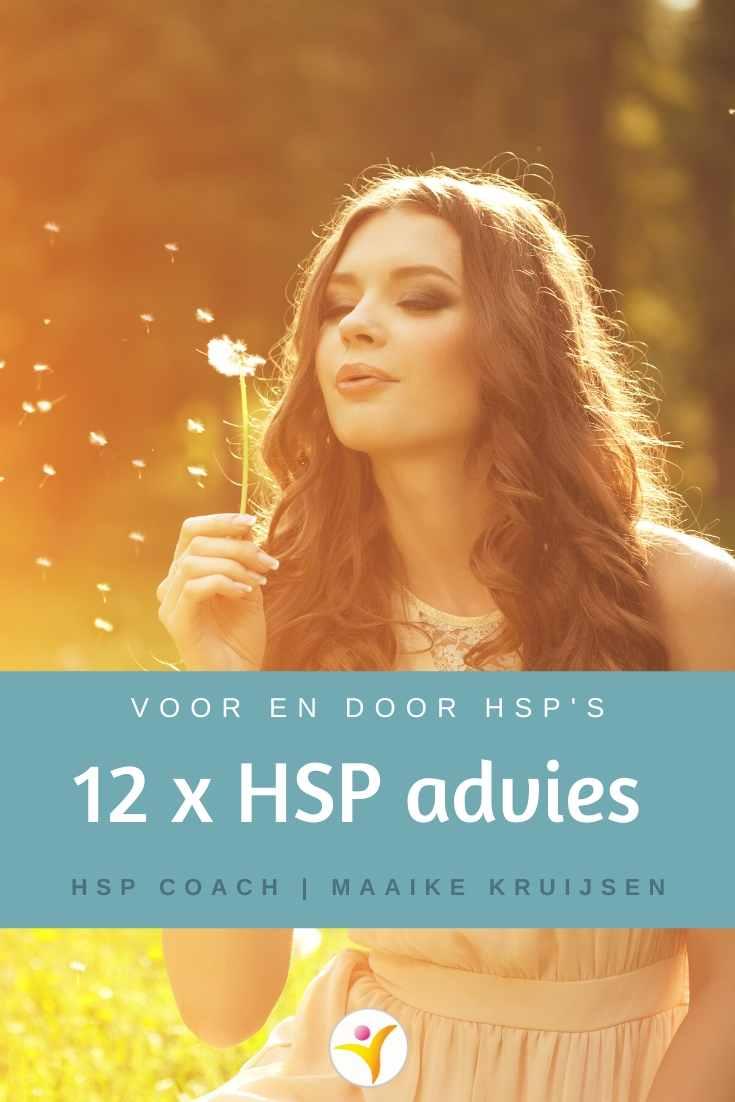 12 belangrijke adviezen voor HSP's