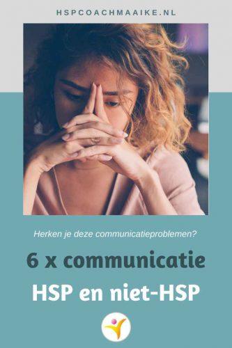 6 communicatieproblemen voor een HSP met een niet-HSP