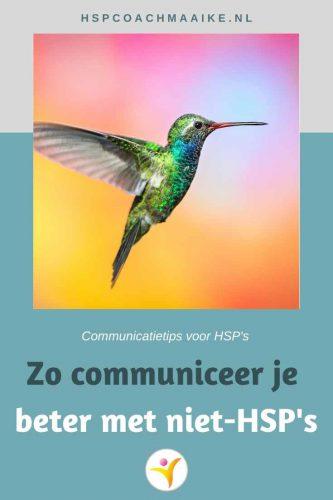 Hoe communiceer je als HSP het beste met een niet-HSP