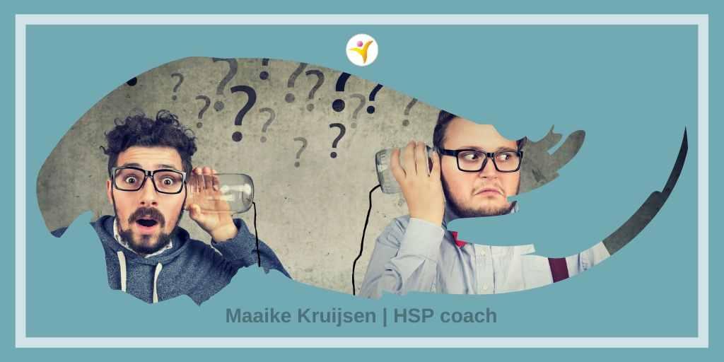 Hoe communiceer je als HSP het beste met een niet-HSP?