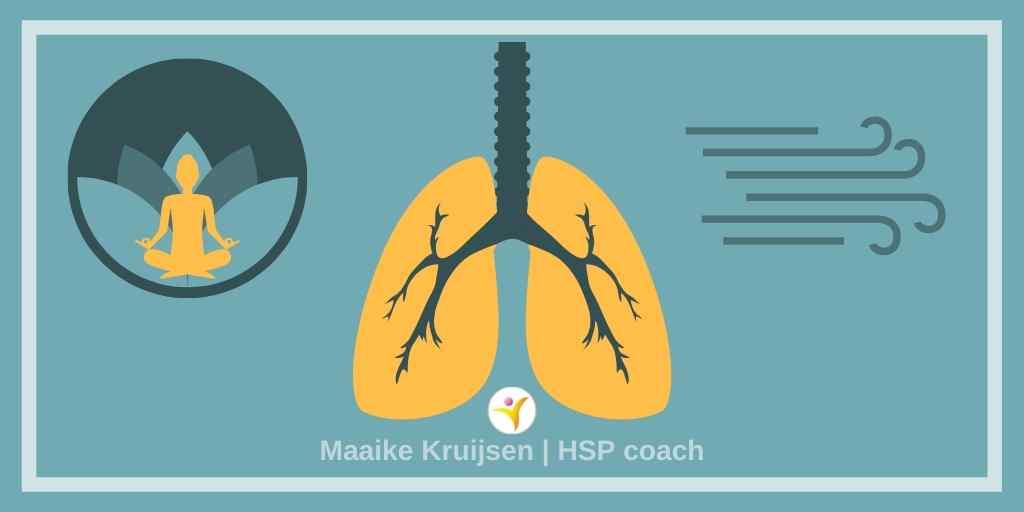 demhalingsoefeningen geven HSP meer rust en ontspanning