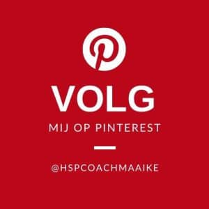 HSP coach Maaike PInterest