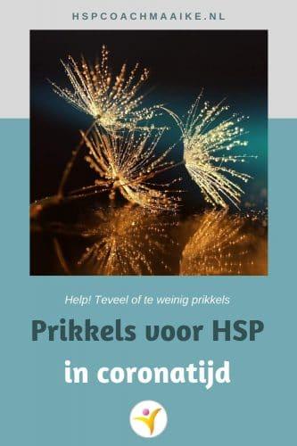 Prikkels voor HSP
