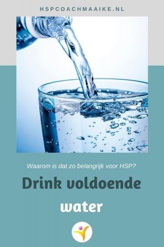 Waarom voldoende water voor HSP belangrijk is