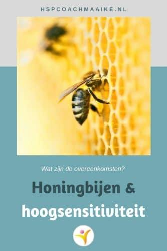 De samenwerking van bijen en overeenkomsten met hoogsensitiviteit