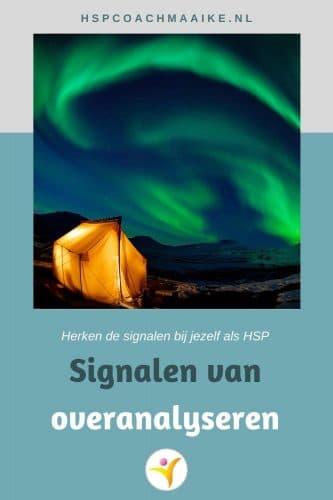 Overanalyseren als HSP